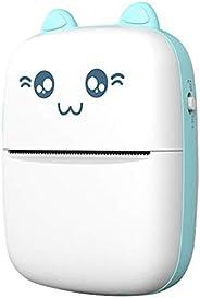 KKmoon Mini impressora térmica portátil sem fio BT 200dpi Etiqueta fotográfica Memorando Pergunta errada Impri