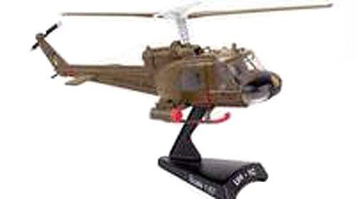 Daron Worldwide Trading Daron Postage Stamp UH-1 Huey Gunship 1:87 - Helicopter Huey