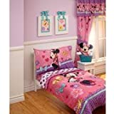 Disney - Cute Minnie 4pc Toddler Bedding Collection