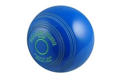 Drakes Pride Crown Green Bowls Blue Practice Jack
