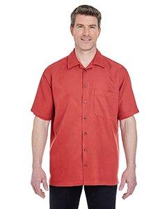 UltraClub Mens Cabana Breeze Camp Shirt (8980) -BRICK -XL