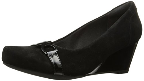 Flores Women's Pumps Black SDE Poppy Clarks OyZwq5gU