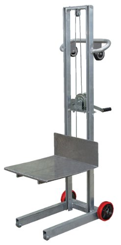 Vestil-ALLW-2020-FW-Aluminum-Lite-Load-Lift-Winch-3-14-58-Height-Range-20-Length-x-20-Width-Platform-400-lbs-Capacity