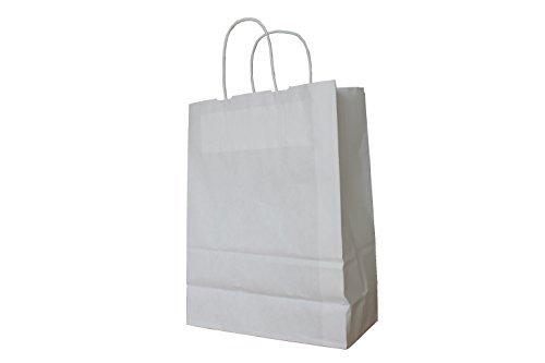 25 Papiertragetaschen mit Kordel