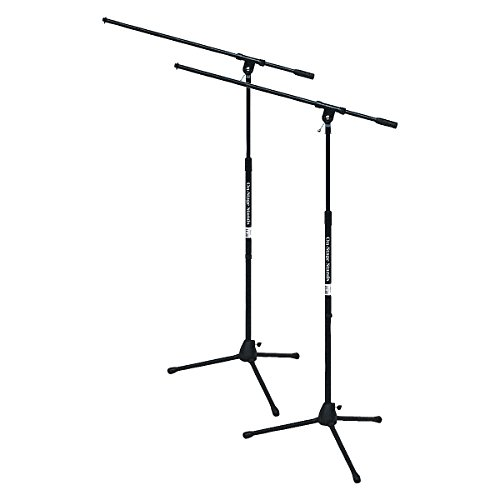 On-Stage Stands Tripod Mic Stand With Boom (Stage Tripod)