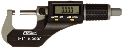 Xtra-Value II Electronic Micrometer with Grey Enamel Finish, 54-870-001-0, 0-1