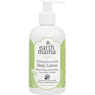 Earth Mama Calming Lavender Baby Lotion with Organic Calendula, 8-Fluid Ounce