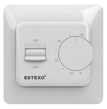 Analógico de pared termostato E73, 16 - 16 A termostato para calefacción
