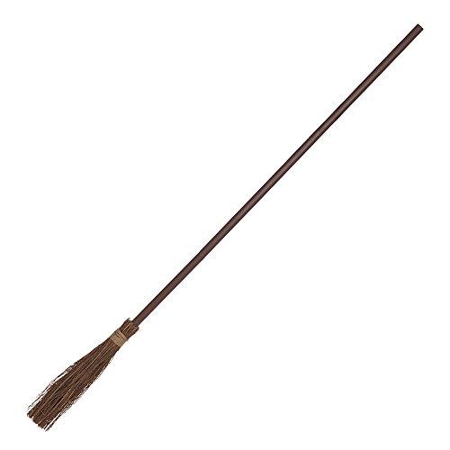 Bristol Novelty HI320 Witch Broom, Brown, One Size ()