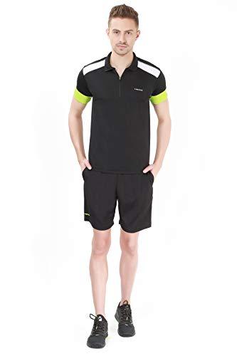 Head HCD-304 Polyester Tennis T-Shirt, Large (Black-Neon Green) (B07SFPTDBZ) Amazon Price History, Amazon Price Tracker
