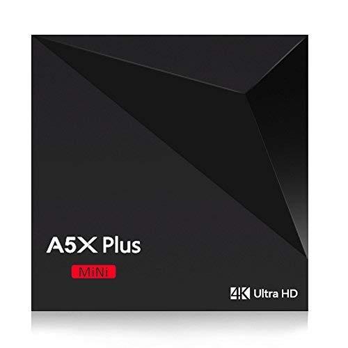 Docooler A5X Plus mini Smart Android 7.1 Mini PC RK3328 1G / 8G Quad Core 4K VP9 H.265 HDR10 USB3.0 DLNA WiFi LAN