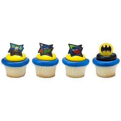 DECOPAC Batman - Pow Whooshhh and Joker - Cupcake Rings - 24 ct: Toys & Games