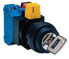 Idec Hw1K-2Af10 Switch, Key Operated, 1No, 10A, 600V