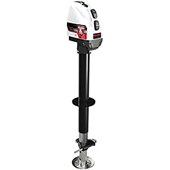 Capacity 2500 lb Atwood 80931 White Deluxe Power Jack