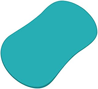 product image for SheetWorld Fitted Bassinet Sheet (Fits Halo Bassinet Swivel Sleeper) - Teal Jersey Knit - Made In USA