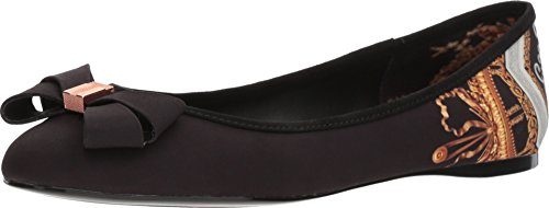 Ted Baker Women's Immep 2 Ballet Flat, Black, 8.5 Medium US by Ted Baker