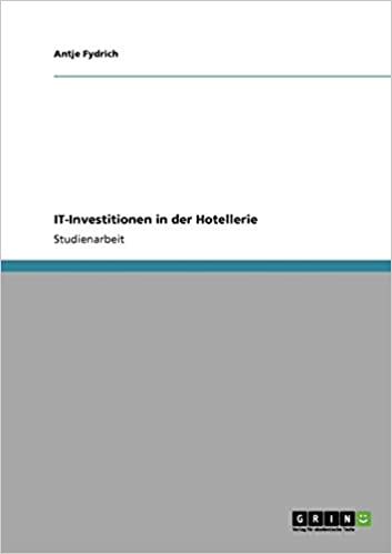 Book IT-Investitionen in der Hotellerie