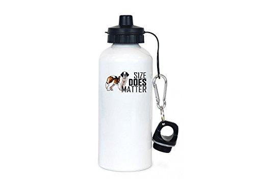 MyFaveGift Saint Bernard Gifts For Women and Men Dog Mom Gifts | Dog Lover Gifts | Saint Bernard Travel Sport Water Bottle | 20 Ounces