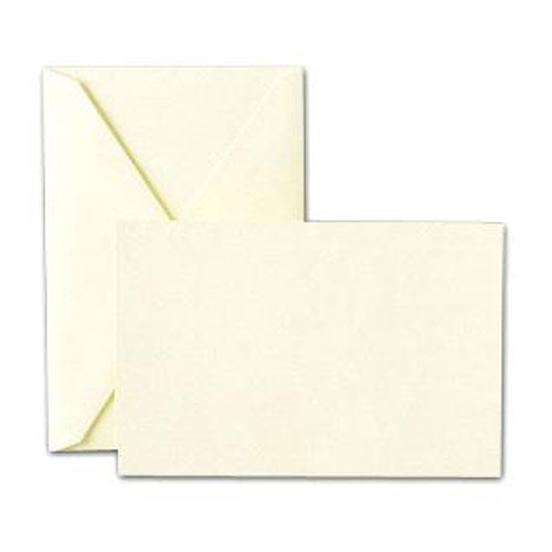 (Crane & Co. Ecru Correspondence Cards & Envelopes)
