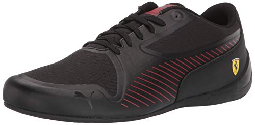 (PUMA Men's SF Drift CAT 7 Ultra Sneaker, Black-Rosso Corsa, 14 M US)