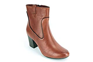 e37e27b527688 CLARKS New Women's Stroll Vine Ankle Boots Rust 9 (B00BD64SCG ...