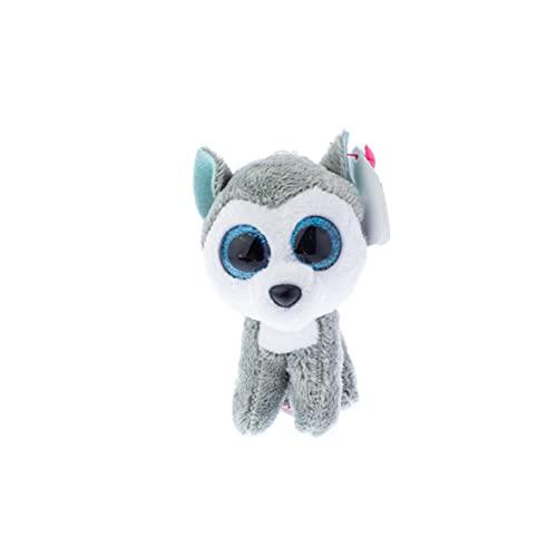 Ty Beanie Boo Key Clip Dog Husky Slush, Multicolour