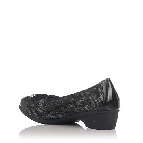 Noir pour 3801 PITILLOS Ballerines Femme AfawERqxqX