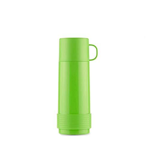 Valira Coleccion 1969 - Botella de vidrio aislante de doble pared con vacio de 0,5 L hecha en Espana, color verde, Reus Fun