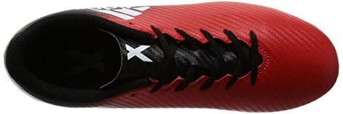 adidas Unisex-Kinder X 16.4 Fxg Fußballschuhe Rot (Red / Ftwr White / Core Black)