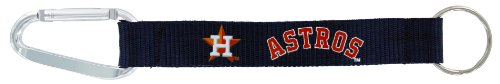 MLB Houston Astros Carabiner Lanyard Key Ring
