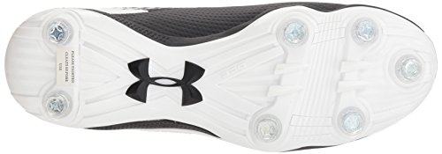 011 Men's Hammer Football White Detachable Black Shoe Under Armour f5Rqwf0