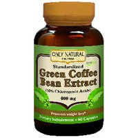 Only Natural Green Coffee Bean Extract With Svetol