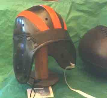 1930 Bronko Nagurski Pre War Chicago Leather Football Helmet