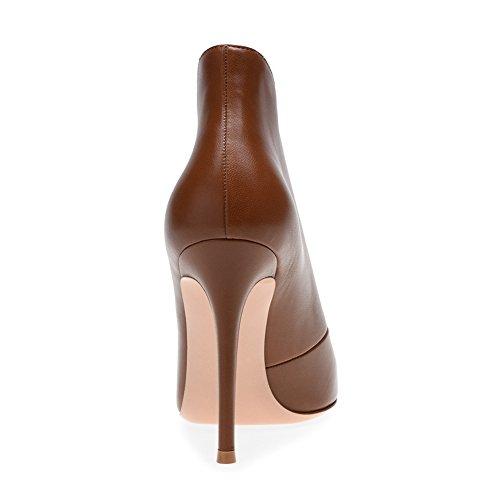 De Brown Haut Taille Mariage Plateforme Fashion Sexy Soirée 35 Transgenre Grande KJJDE Club 10 Poisson Sandales Bouche TLJ Femme De Talon Fête qwn7nfAR