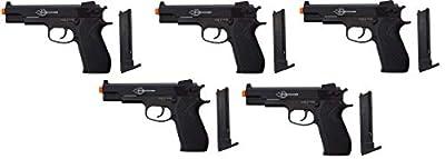 Firepower .45 Metal Slide Airsoft Pistol, 6mm