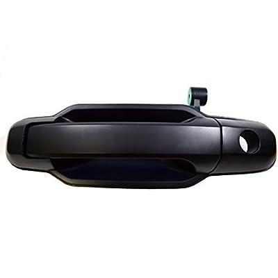 PT Auto Warehouse KI-3550P-FL - Outside Exterior Outer Door Handle, Primed Black - Driver Side Front: Automotive