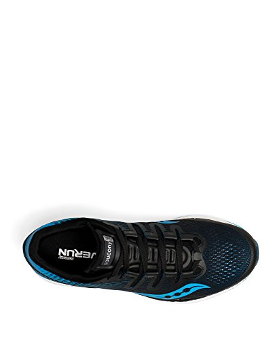 Saucony Men's Freedom Iso Fitness Shoes Black (Blk / Blu 7) sale best place clearance pictures buy cheap 100% authentic cheap amazing price fmqXIaaY