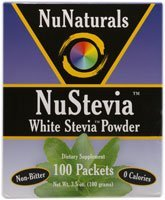 (Nunaturals - Nustevia White Stevia Powder - 200 Packet(s) (Pack of 2))