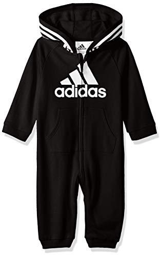 Baby Girl 0-3 Halloween Costumes (adidas Baby Girls Coverall, Black ark, 3)
