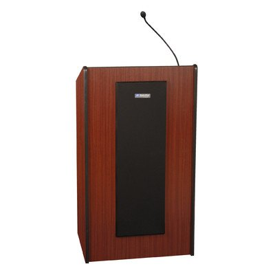 (Presidential Plus Full Podium Finish: Mahogany, Wireless Mic Option: None, Sound: Non-Sound)