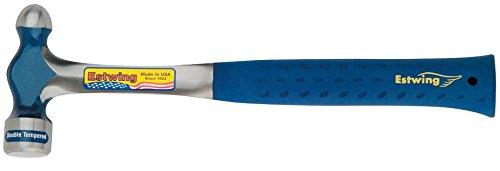 Estwing E3-16BP Ballpeen Hammer, Nylon Vinyl Shock Reduction Grip, 16-Ounce