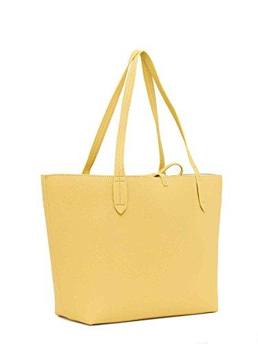 Reversibile Shopping A perla Borsa Patrizia Spalla Pepe Giallo tOPFw