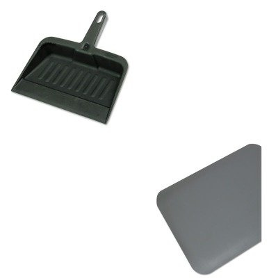 KITMLL44020335RCP2005CHA - Value Kit - Guardian Pro Top Anti-Fatigue Mat (MLL44020335) and Rubbermaid-Chrome Heavy Duty Dust Pan (RCP2005CHA)