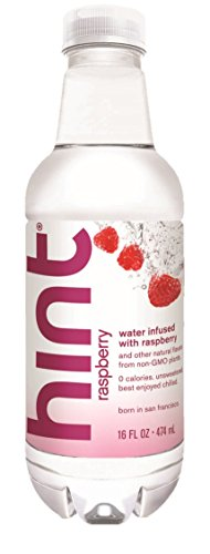 Hint Unsweetened Essence Water, 16 Ounce Bottles (Pack of 6) ()