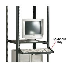 Keyboard Tray with Mouse Platform