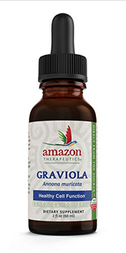 Amazon Therapeutic Laboratories Graviola Extract Wild Harvested, 2 Ounce (Packaging may vary)