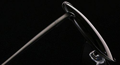Lunettes Sunglasses 1pcs Style Hommes Bleu Lunettes Classiques Lunettes UV De Demarkt Protection De Rayonnement Fashion Soleil 516dxvInn