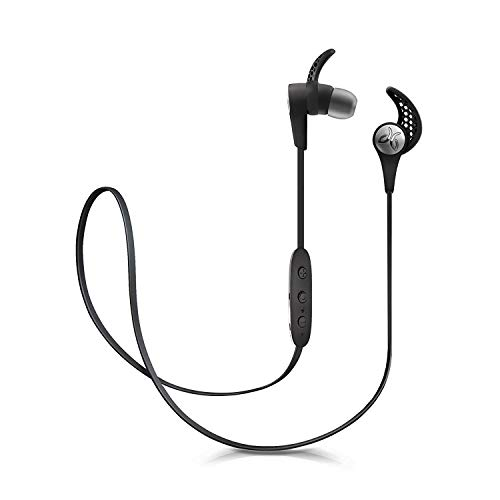 Jaybird X3 Sport Sweatproof Water Resistant in Ear Headphones Wireless Bluetooth Earbuds for Sports - Black (Renewed)