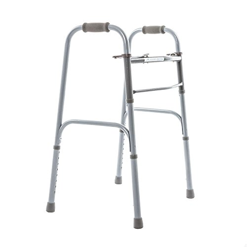 Silver Spring Adjustable Steel Two Button Walker by Silver Spring