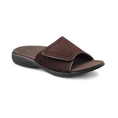 Dr.comfort Mens Connor Sandal Choklad